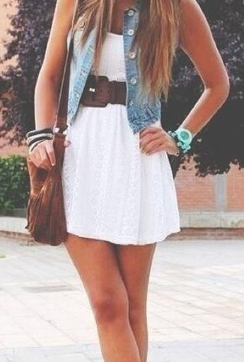 Perfect dress for a day out in Summer