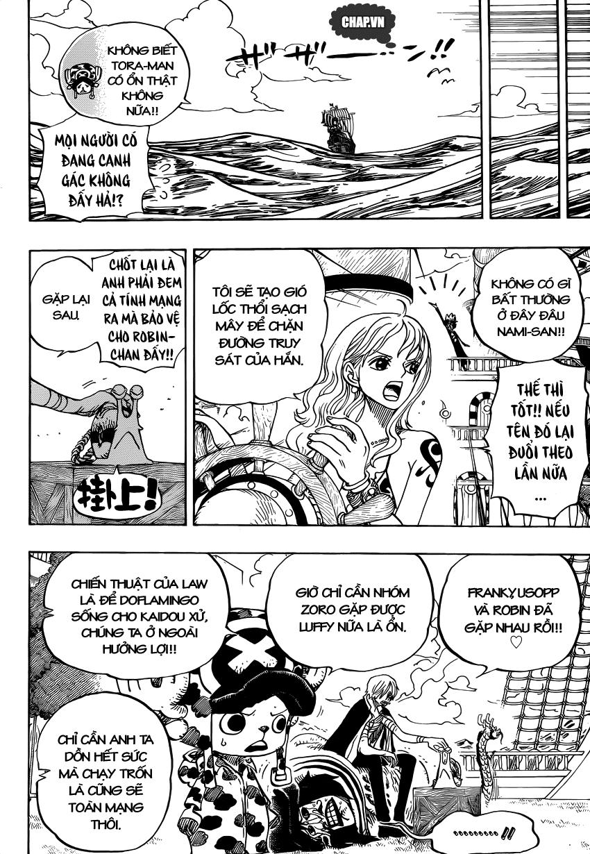 One Piece Chapter 725: Nữ chiến binh bất bại 003