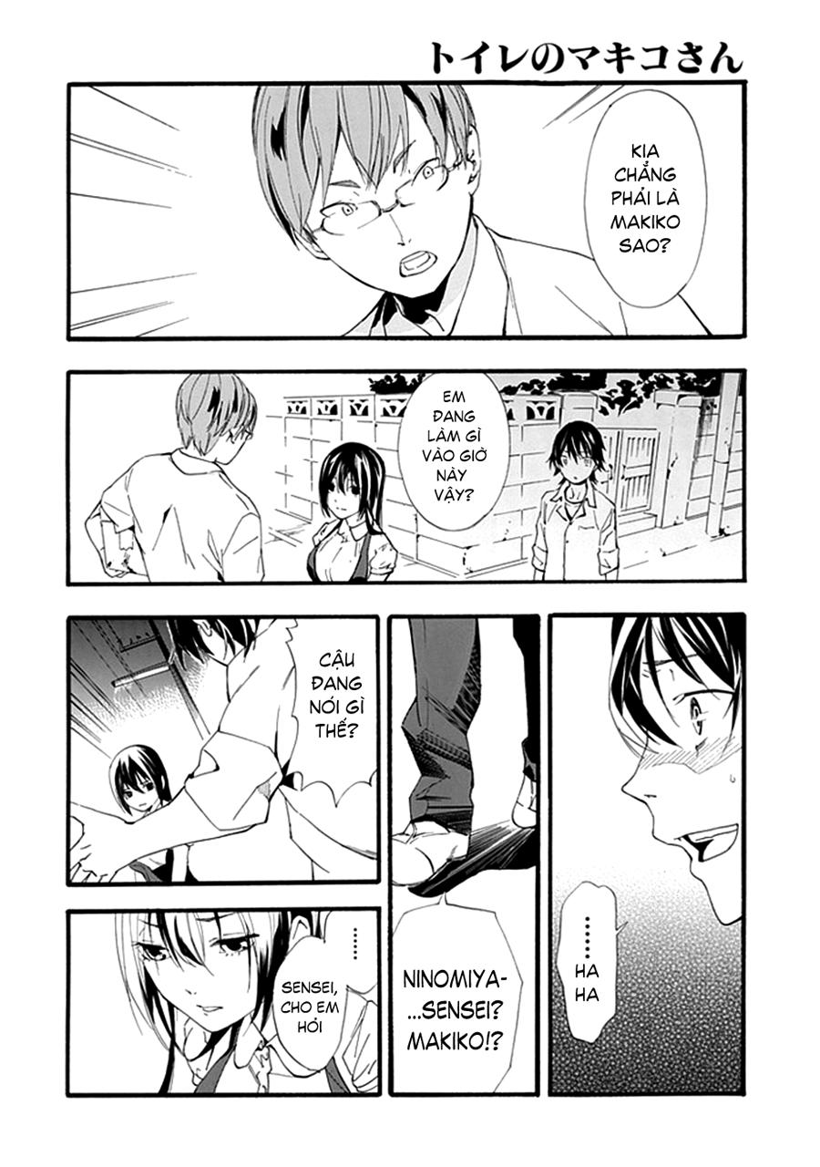 Toilet no Makiko-san chap 1 - Trang 53