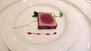 Rare Tuna crusted with 5 spices