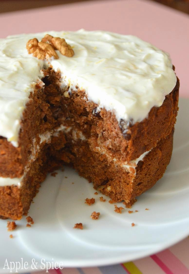 Apple & Spice: Carrot Cake and a Lesson in Trusting Your Instincts