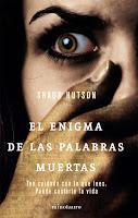 """Portada del libro """"El enigma de las palabras muertas"""""""