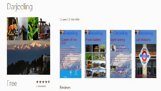 mobile application named 'Darjeeling'