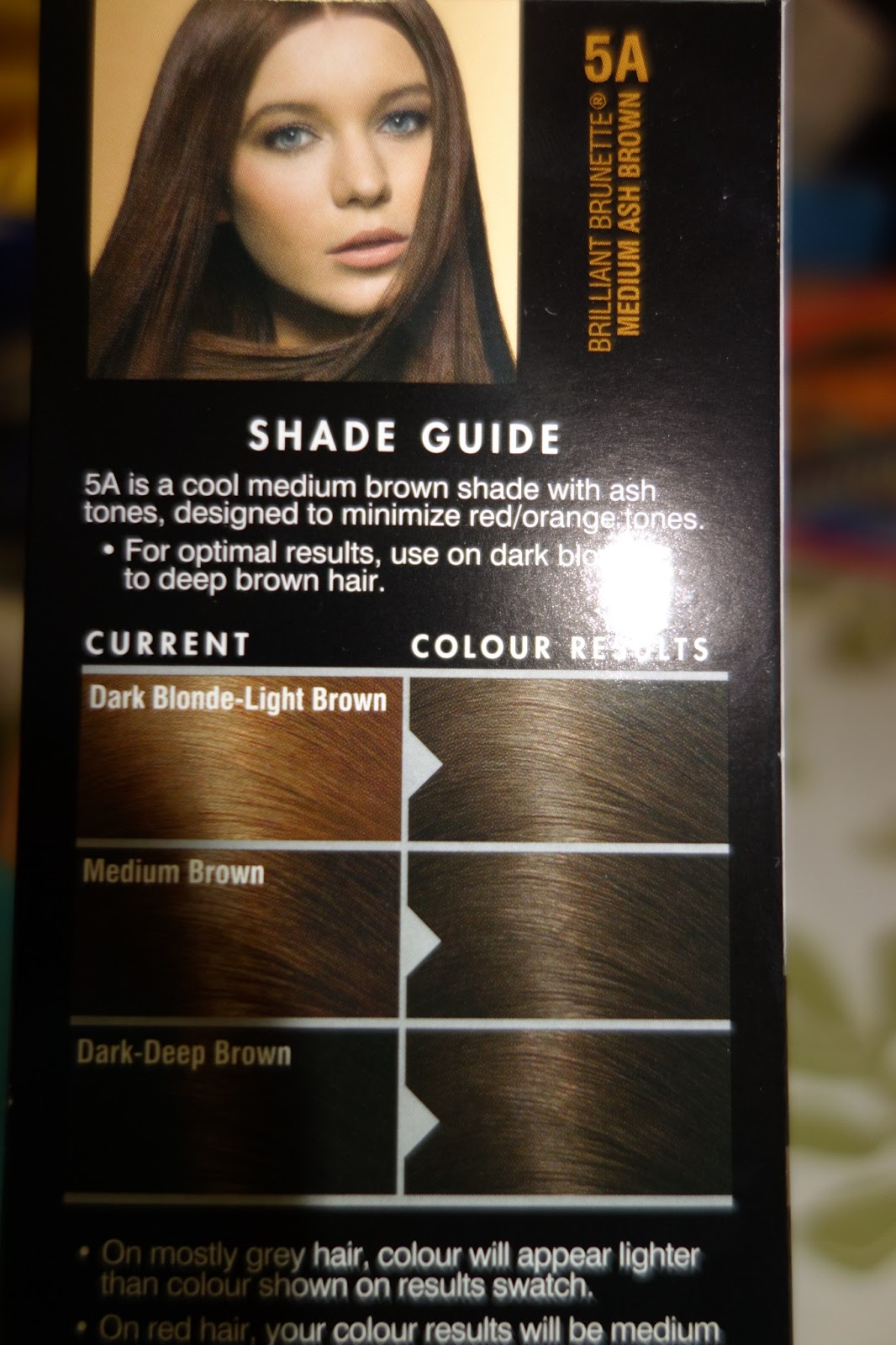John Frieda Hair Color Light Ash Brown
