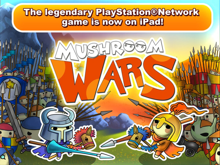 Mushroom Wars App iTunes App By SMS Services O.o.o. - FreeApps.ws