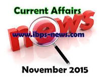 november 2015 current affairs