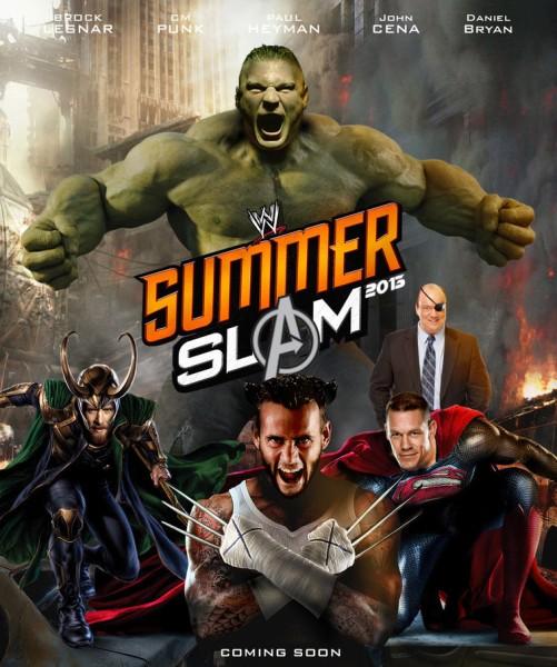 مشاهدة عرض WWE SummerSlam 19/8/2013 youtube مترجم يوتيوب اون لاين كامل مباشرا بدون تحميل