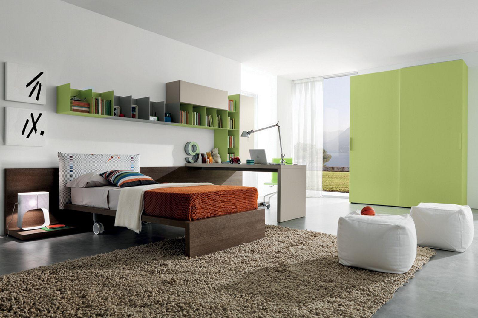 desain kamar tidur anak muda