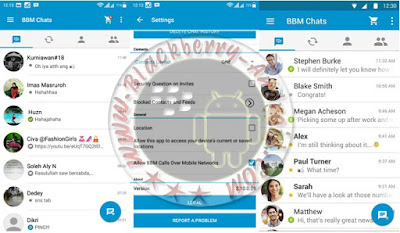 Download Ubdate Apps BBM Official New Versi 2.10.0.29 BackUp Free Sticker