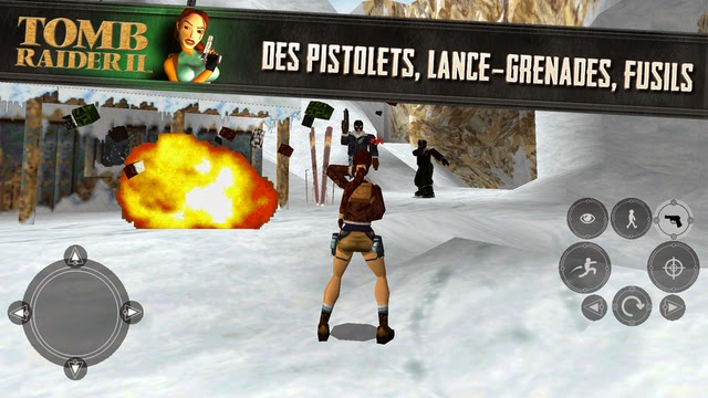 tomb raider 2 iphone appli