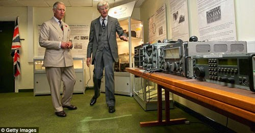 Prince Charles at GCHQ Scarborough