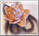 La rosa in panno