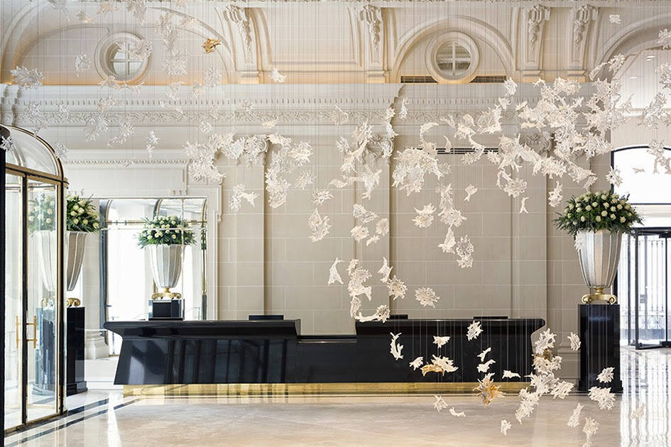 Les plus beaux hotels design du monde h tel the peninsula for Designhotel paris