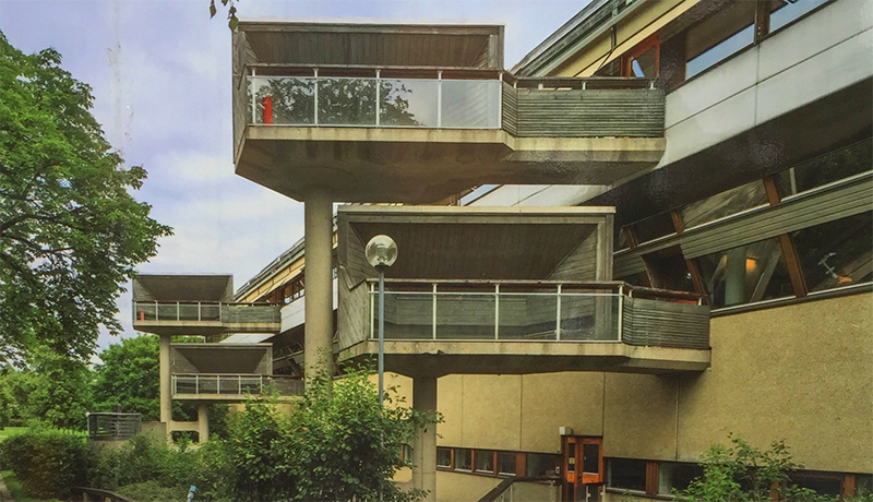 ralph erskines stockholm university library
