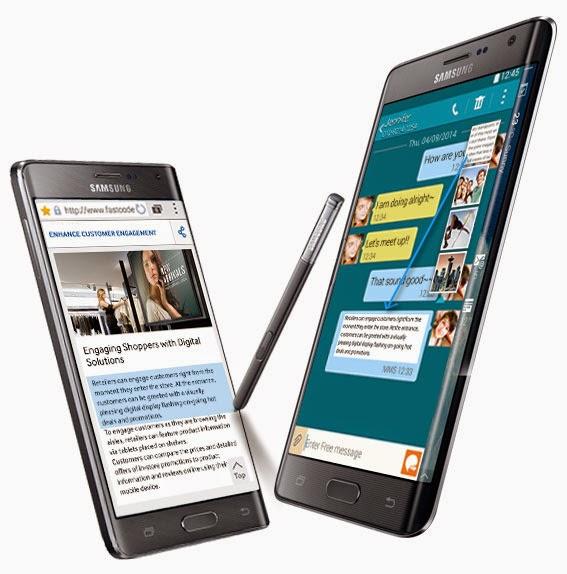 Spesifikasi Dan Harga Baru Samsung Galaxy Note Edge