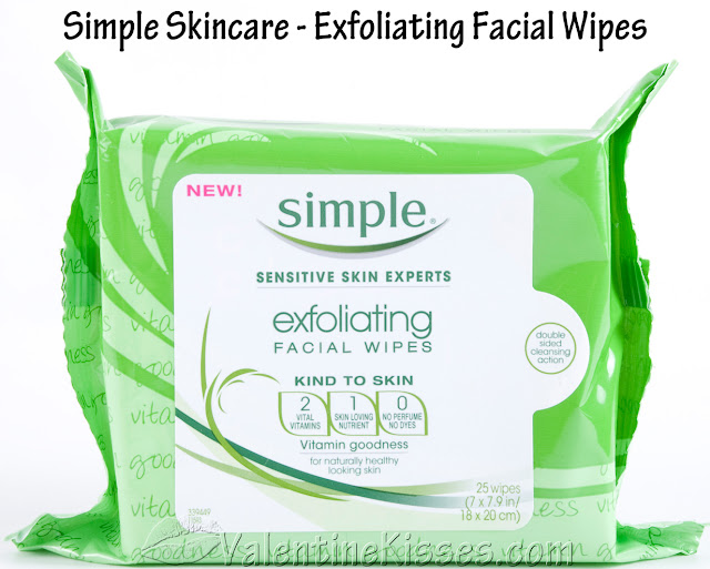 Ponds exfoliating facial wipes