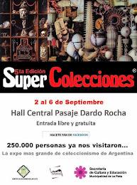 """2 al 6 de Septiembre """"5° SUPER COLECCIONES"""""""