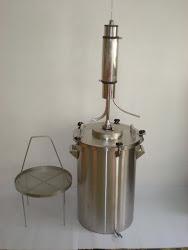 Alat Destilasi / suling minyak atsiri skala kecil-sedang