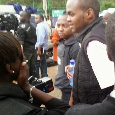 Citizen TV's JACQUE MARIBE's brother rescued from the West Gate AL