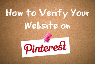 verify website on pinterest
