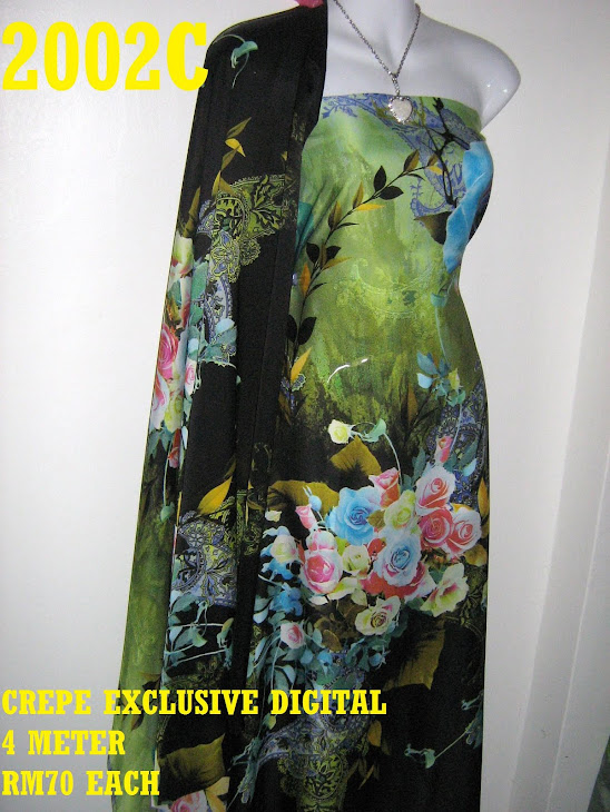 CP 2002C: CREPE EXCLUSIVE DIGITAL PRINTED, 4 METER