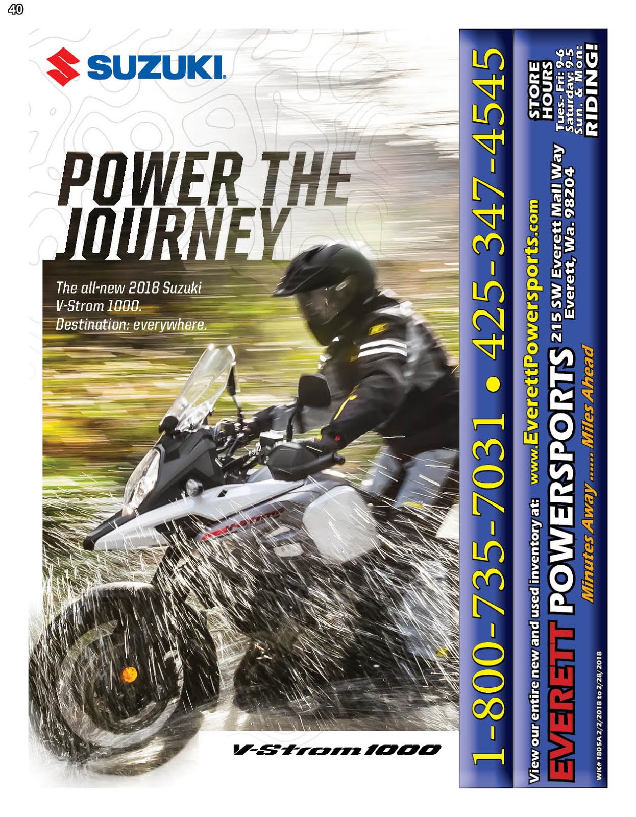 """Everett Powersports"" Minutes Away...Miles Ahead!!"