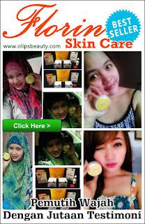 Florin Skin Care - Cream Pemutih Wajah dan Penghilang Flek Hitam