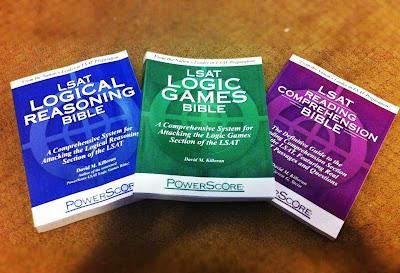 Powerscore LSAT Bibles