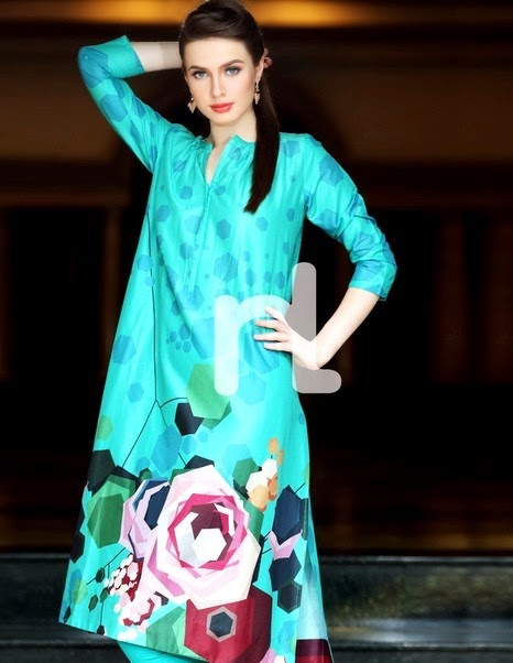 Nishat Linen Digital Lawn Prints