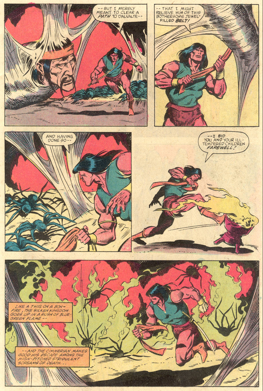 Conan the Barbarian (1970) Issue #141 #153 - English 11