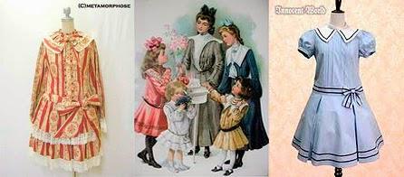 moda infantil 1910