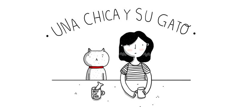 UNA CHICA Y SU GATO