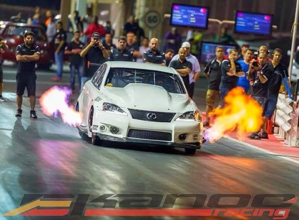 Lexus IS-F EKanoo Racing