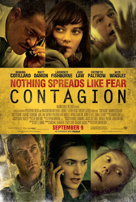 a poster image for the movie Contagion