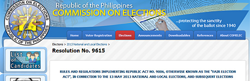 comelec-resolution-9615