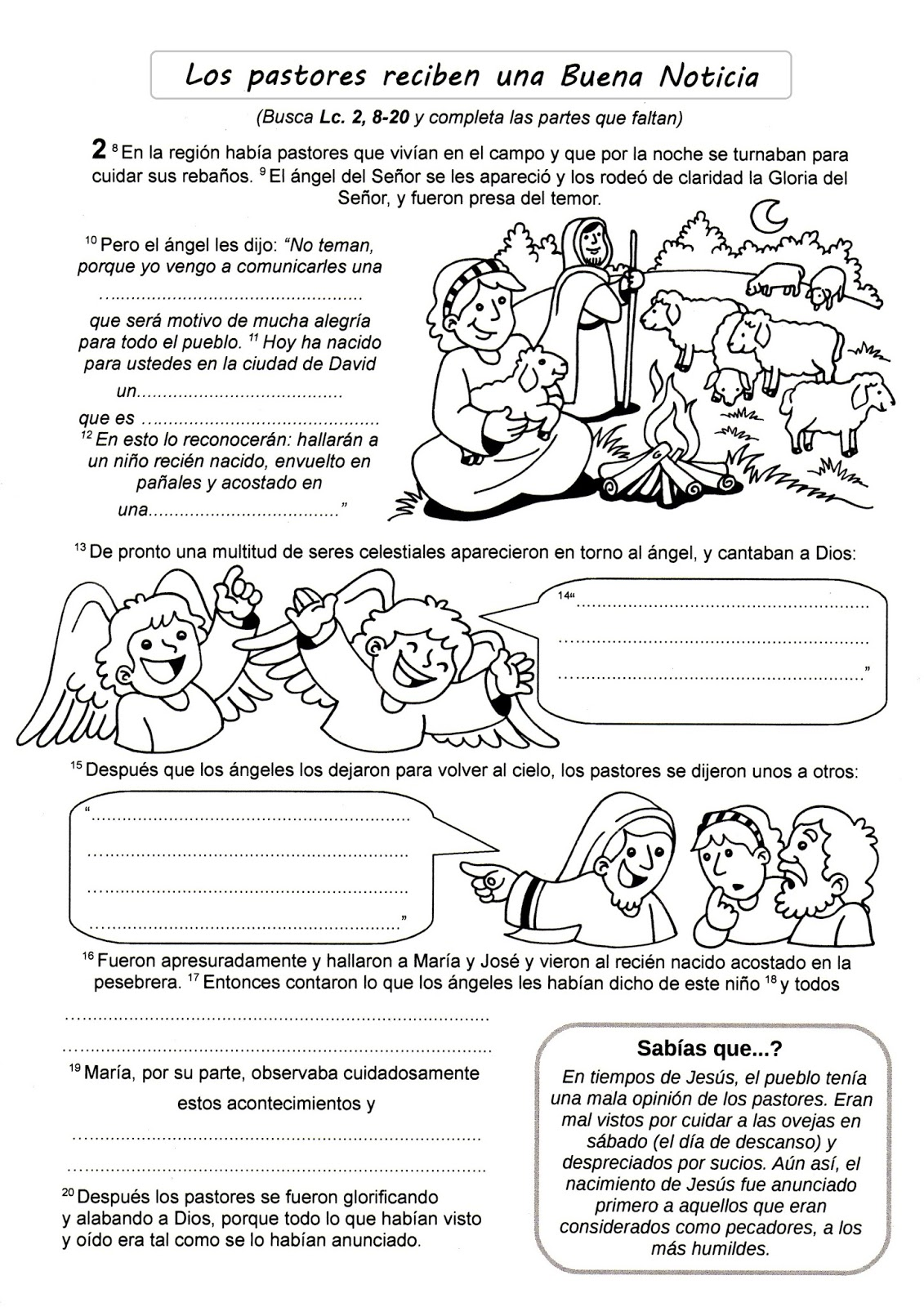 Especial de Navidad: Rec. Catequésis de Natividad de Jesús