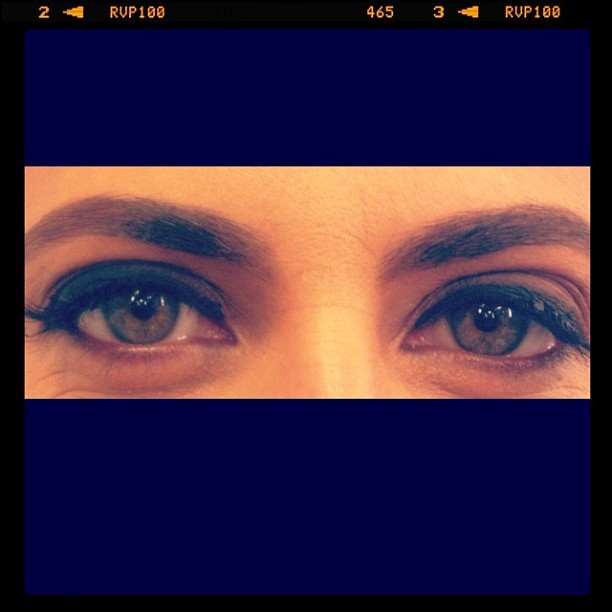 Giovanna Antonelli fotografou os olhos de Thammy Miranda (Foto: Instagram/Reprodução)