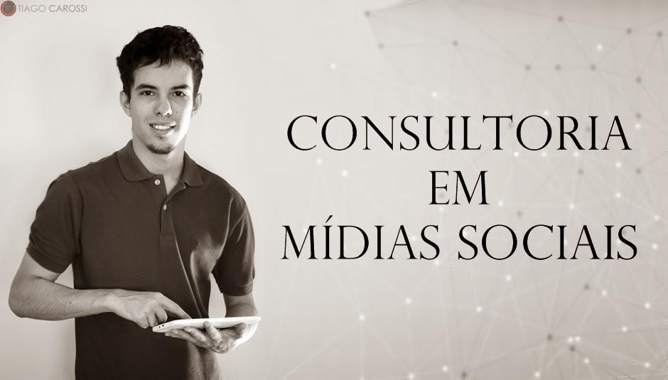Tiago Carossi Consultoria Midias Sociais Brasil