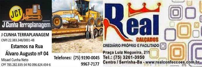 Santa Joana Policlínica - 75 3261-2330 ou 3261-0294 // Real CalçadosCrediário próprio e facilitado!