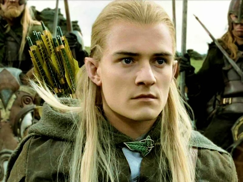 Adrian Neville elf Legolas look alike Lord Of The Rings NXT
