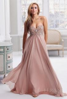 vizon rengi abiye elbise modelleri