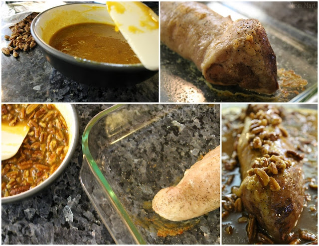 How to make Pecan Glazed Pork Tenderloin #Recipe #Foodie #Yum