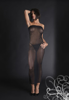 robe transparente modulable