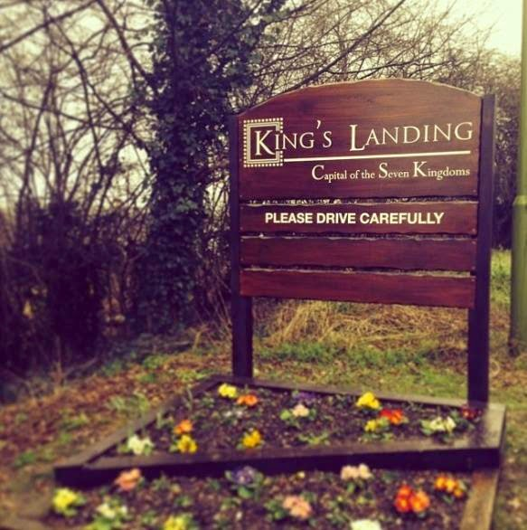 kings landing sign