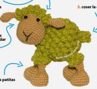 http://www.tejiendoperu.com/amigurumi/oveja/