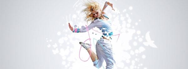 Girl Dance Facebook Cover Hip-Hop
