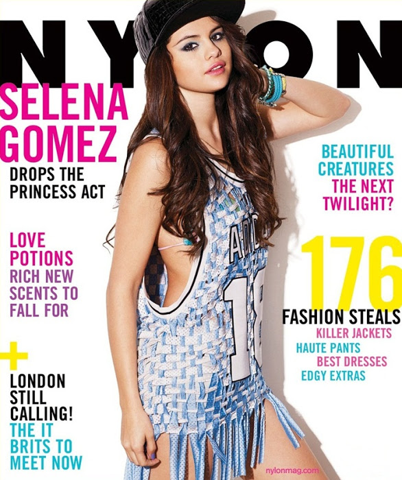 Fotos Selena Gomez en la revista Nylon de febrero 2013