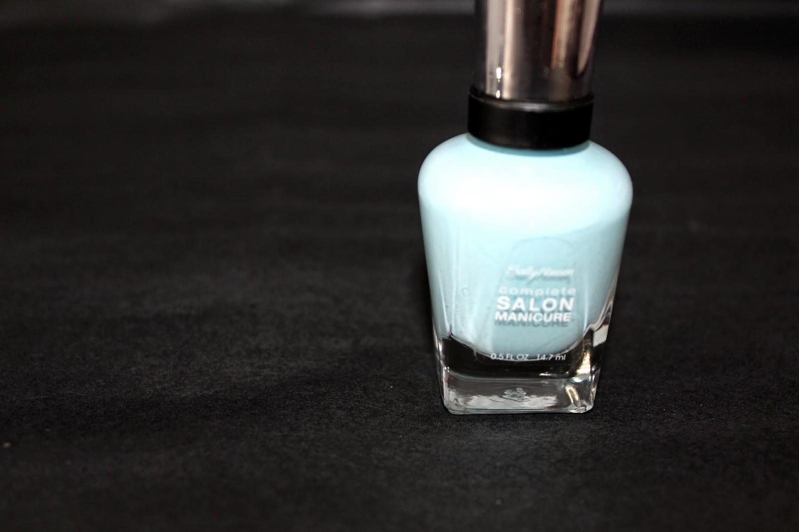 ally Hansen Complete Salon Manicure Barracuda
