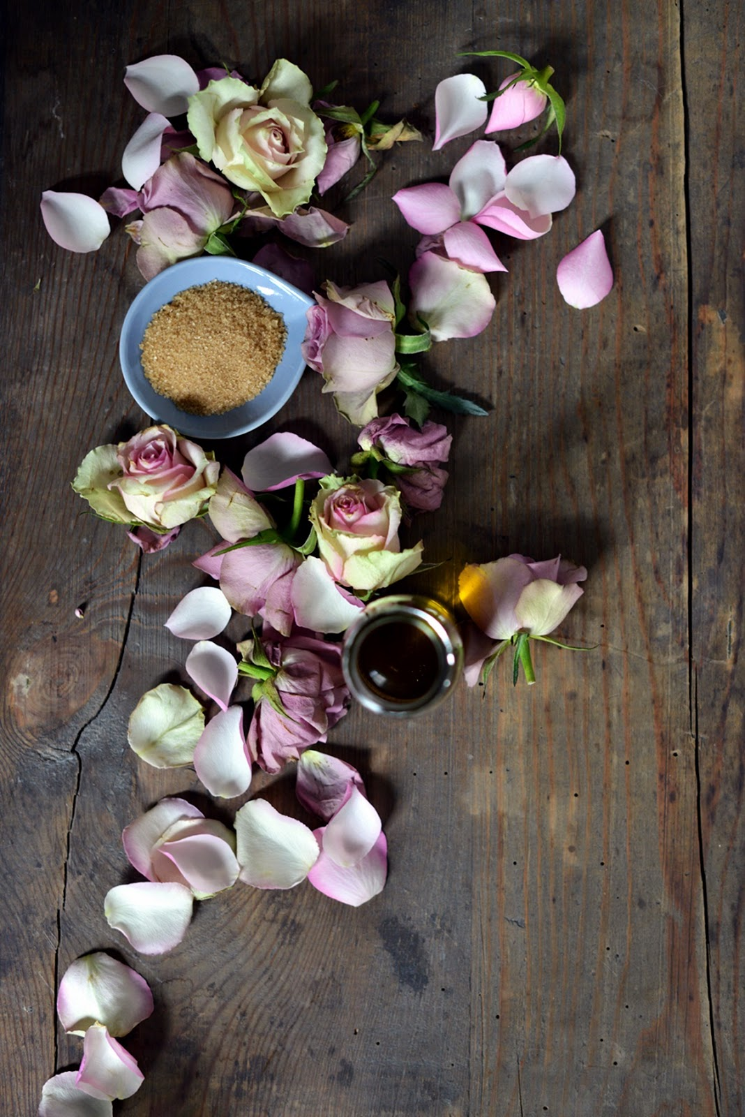 peeling rosenblätter