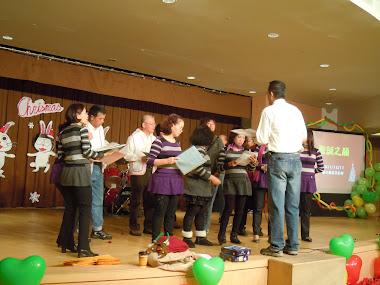 合唱團於養生村演出